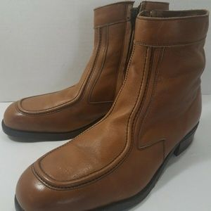 HY-TEST Leather Safety Steel Toe Ankle boots 9.5 D
